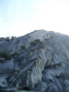 Rock Climbing Photo: The start of Scarface.  A2 right facing corner to ...