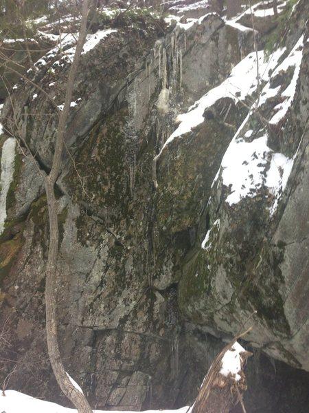 Rock Climbing Photo: Nice mental challenge
