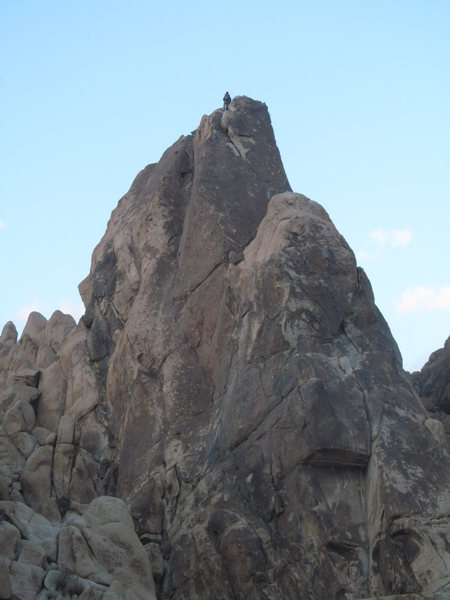 Rock Climbing Photo: Topping out after a Direct South Face/Tranquility ...