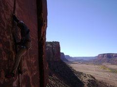 Rock Climbing Photo: Blue Sun, Indian Creek