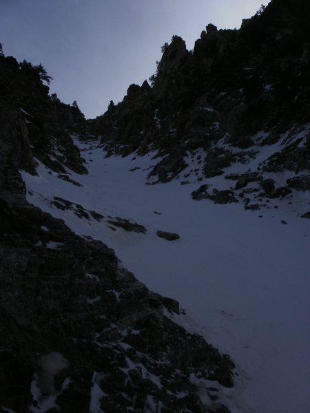 more rock, less snow
