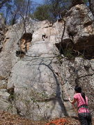 Rock Climbing Photo: Sarah Crosier on Asian School Girls, Sonia Shultis...