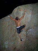 Rock Climbing Photo: bouldering at Pway in NH