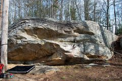 Rock Climbing Photo: Kids Traverse starts on the far right and uses the...