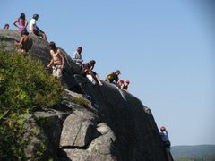 Rock Climbing Photo: Top View of the climbs at section 13.