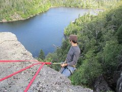 Rock Climbing Photo: Picture of a climb by the falcon nest?  The area w...