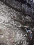 Rock Climbing Photo: I have no Idea what this climb is, I had to lead i...