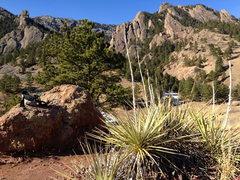 Rock Climbing Photo: Walking from NCAR.