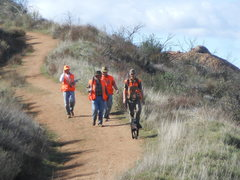 Rock Climbing Photo: Hunters returning from shooting quail in the hills...