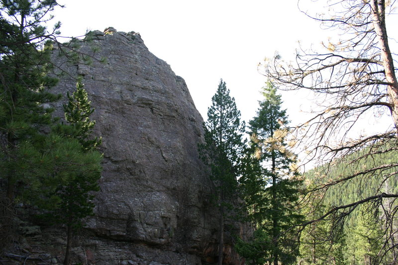 Rock Climbing Photo: The Whistle Pig.