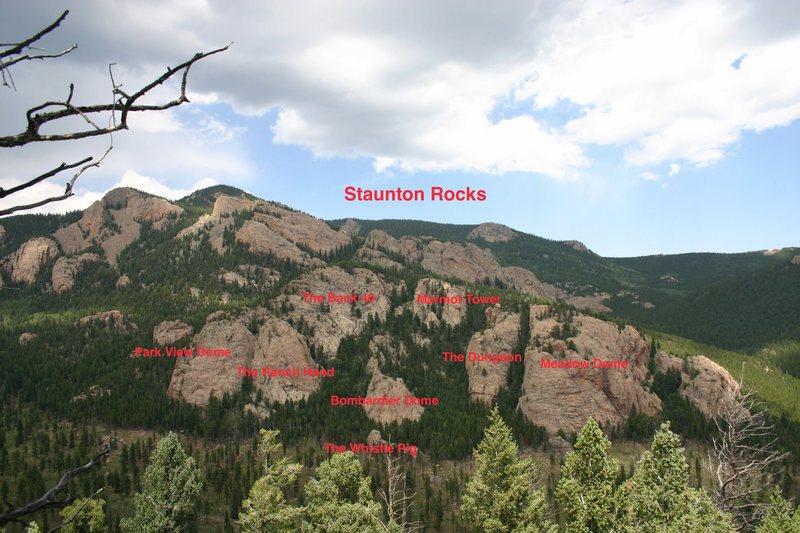 Staunton Rocks.