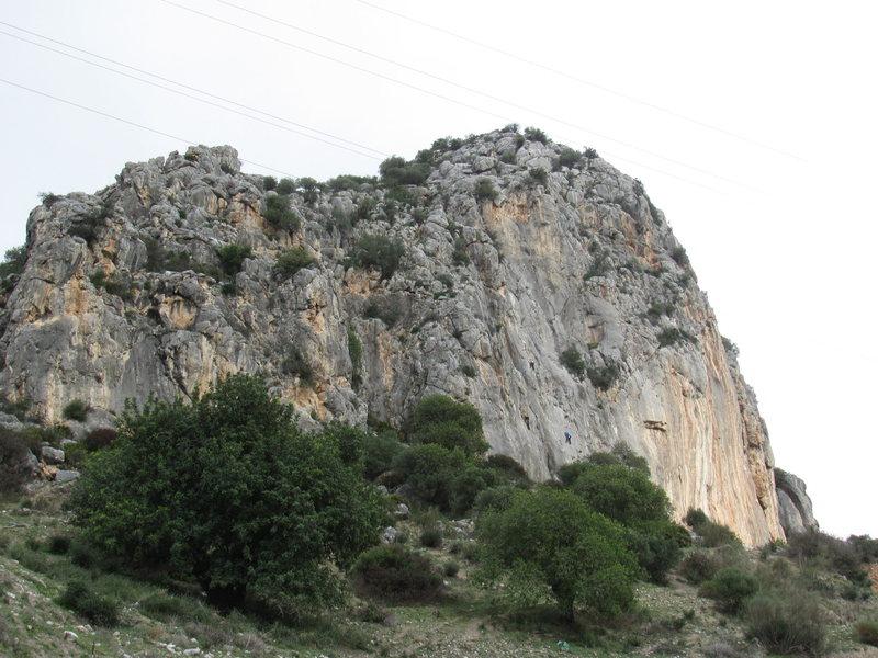 Rock Climbing Photo: Las Encantadas