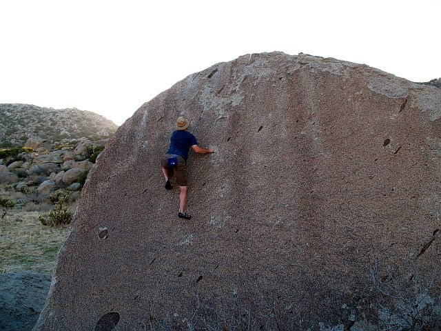 Rock Climbing Photo: Chocoholic (V0), Culp Valley