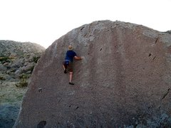 Rock Climbing Photo: Chocoholic (V0), Culp Valley