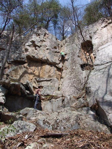 5.7ish corner climb
