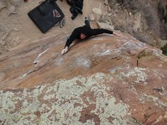 Rock Climbing Photo: Richard Reed on Finger Ripper.