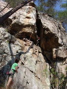 Rock Climbing Photo: Sonia Shultis TR on Fat City.