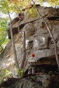 Rock Climbing Photo: Tom climbing Betka on Belay