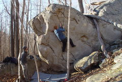 Rock Climbing Photo: Running my bazillionth lap on one of my Bozoo favo...