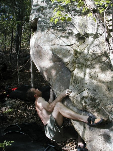 Rock Climbing Photo: messing with Intension