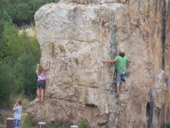 Rock Climbing Photo: fun with the kiddles