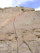 Rock Climbing Photo: Ugly Step Sister of Corona Crack, Phipps Park, Bil...