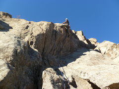 Rock Climbing Photo: Above the steep section.