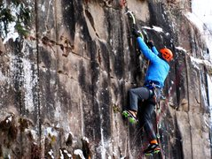 Rock Climbing Photo: James Loveridge FA