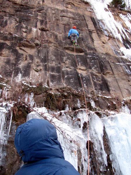 Rock Climbing Photo: James Loveridge FA
