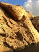 Rock Climbing Photo: Beach Wall Right Center Topo