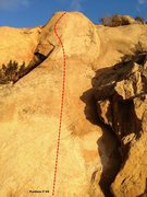 Rock Climbing Photo: Beach Wall Center Topo
