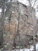 Rock Climbing Photo: The face.