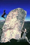 Rock Climbing Photo: Bouldering pro