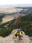 Rock Climbing Photo: Another arete photo.