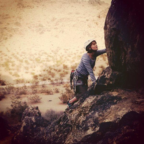 Rock Climbing Photo: Unknown 5.7 Boy Scout wall