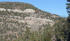 Rock Climbing Photo: Palomas Pk North side