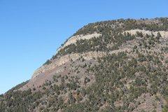 Rock Climbing Photo: SouthWest side Palomas Pk