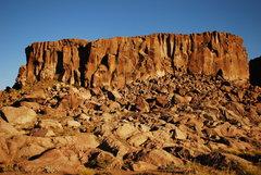 Rock Climbing Photo: Volatil Zone, North Wall.