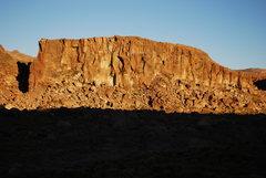 Rock Climbing Photo: Volatil Zone, South Wall.