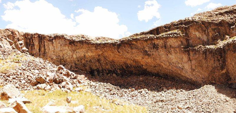 Los Huasamacos del Sur Zone, Second Wall.