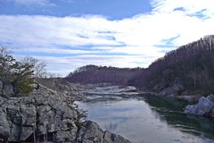 Rock Climbing Photo: The view of the Potomac downriver from Purple Hors...