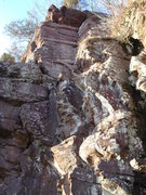 Rock Climbing Photo: General shot of NSC's corner