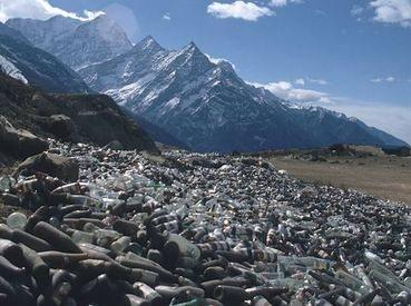Rock Climbing Photo: Trash