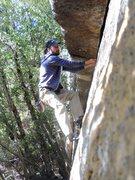 Rock Climbing Photo: Walk, Don't Run (5.10 or V0)
