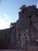Rock Climbing Photo: Jim Thornburg on The Ladder