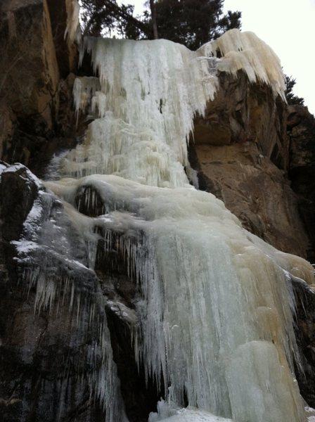 Rock Climbing Photo: Hidden Falls-main flow.