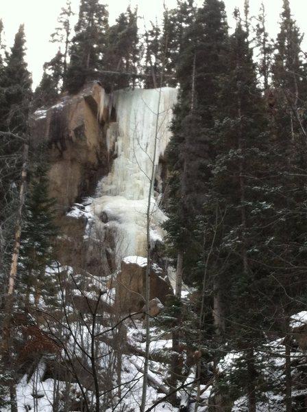 Rock Climbing Photo: Hidden Falls from afar 2.