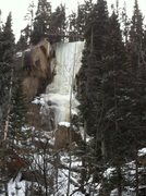 Rock Climbing Photo: Hidden Falls from afar 2.