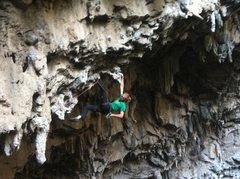 Rock Climbing Photo: So many places to find a rest on this route!