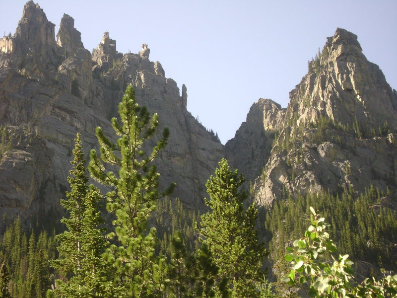 Rock Climbing Photo: West Rosebud